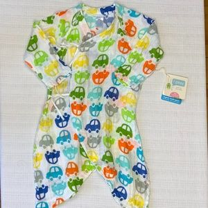 NWT I PLAY ORGANIC COTTON, SIZE  3-6 MONTHS